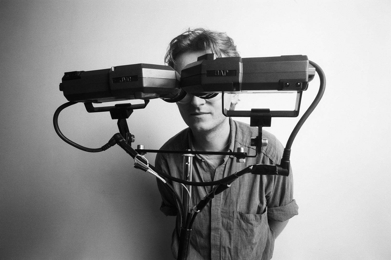 """VR-Computer-Installation """"Viewfinder"""", bildo Galerie"""