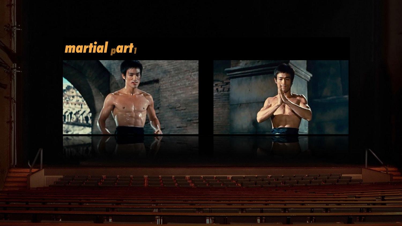 Martial Art Bühnen-Installation in der Akademie der Künste Berlin